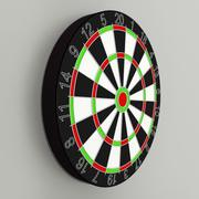 Placa de dardos 3d model