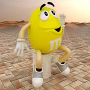 Character M&Ms 3d model