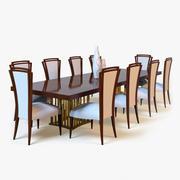 Table à manger 3d model