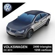 Volkswagen CC 2013 3d model