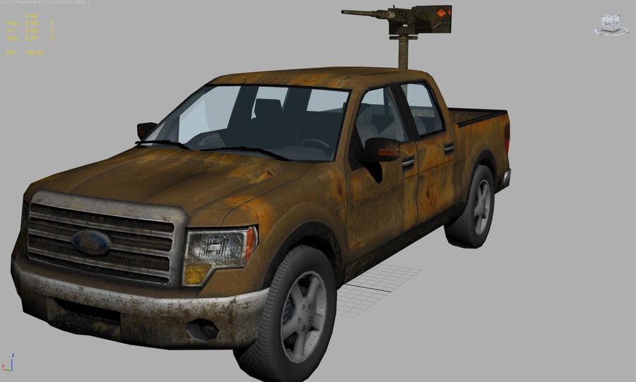 Tekniskt (fordon) royalty-free 3d model - Preview no. 8