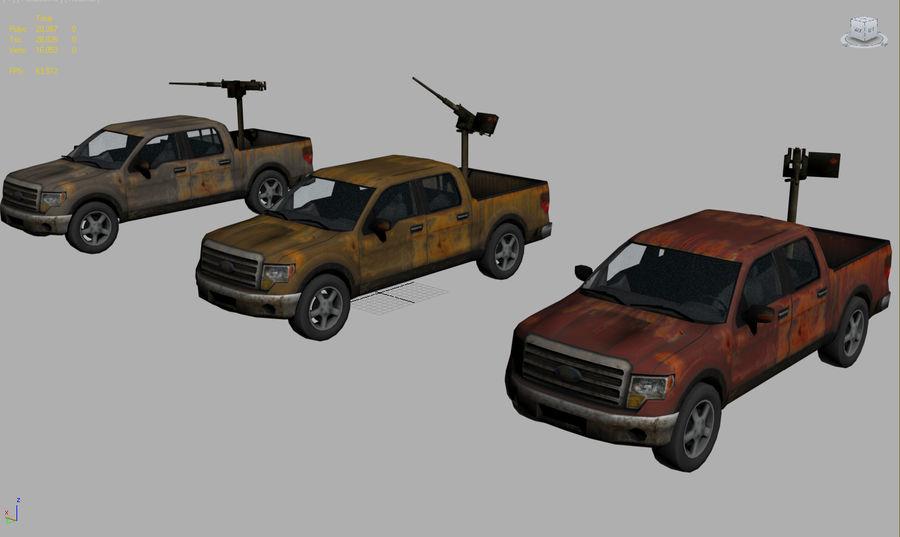 Tekniskt (fordon) royalty-free 3d model - Preview no. 2