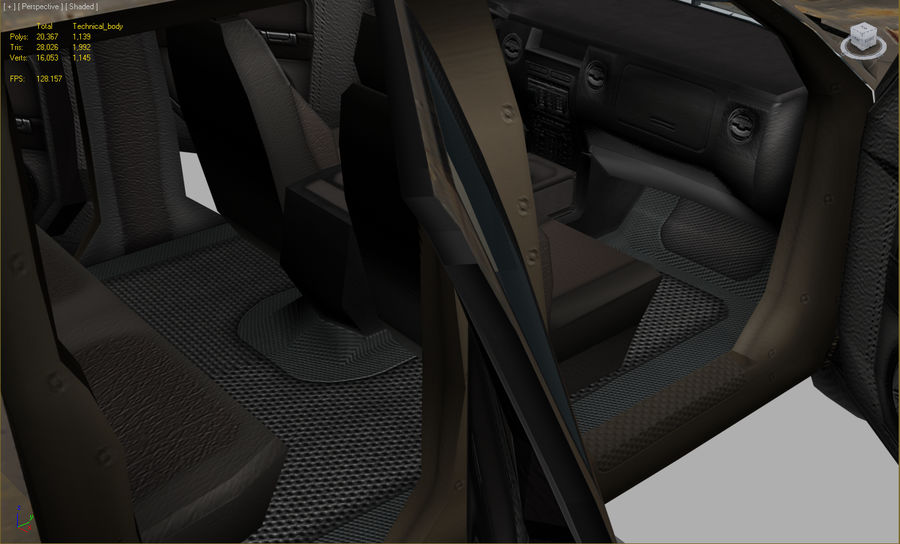 Tekniskt (fordon) royalty-free 3d model - Preview no. 5