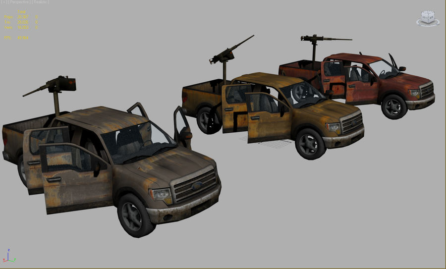 Tekniskt (fordon) royalty-free 3d model - Preview no. 1