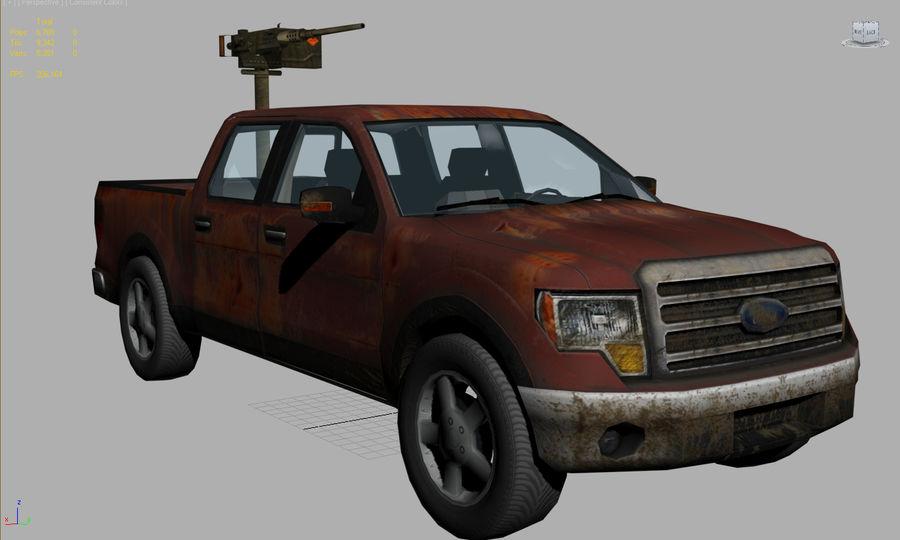 Tekniskt (fordon) royalty-free 3d model - Preview no. 9