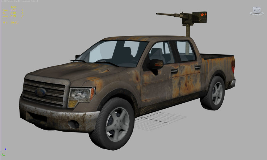 Tekniskt (fordon) royalty-free 3d model - Preview no. 7