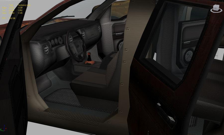 Tekniskt (fordon) royalty-free 3d model - Preview no. 4