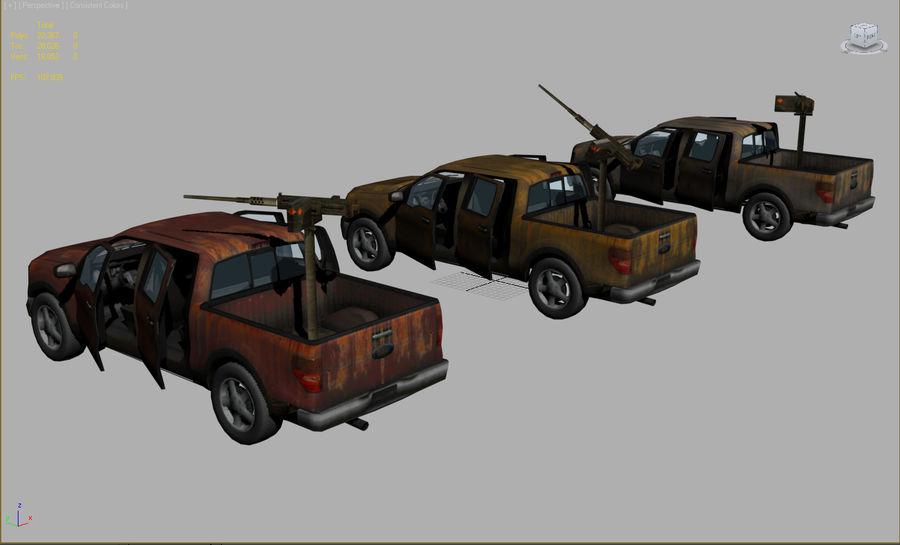 Tekniskt (fordon) royalty-free 3d model - Preview no. 3