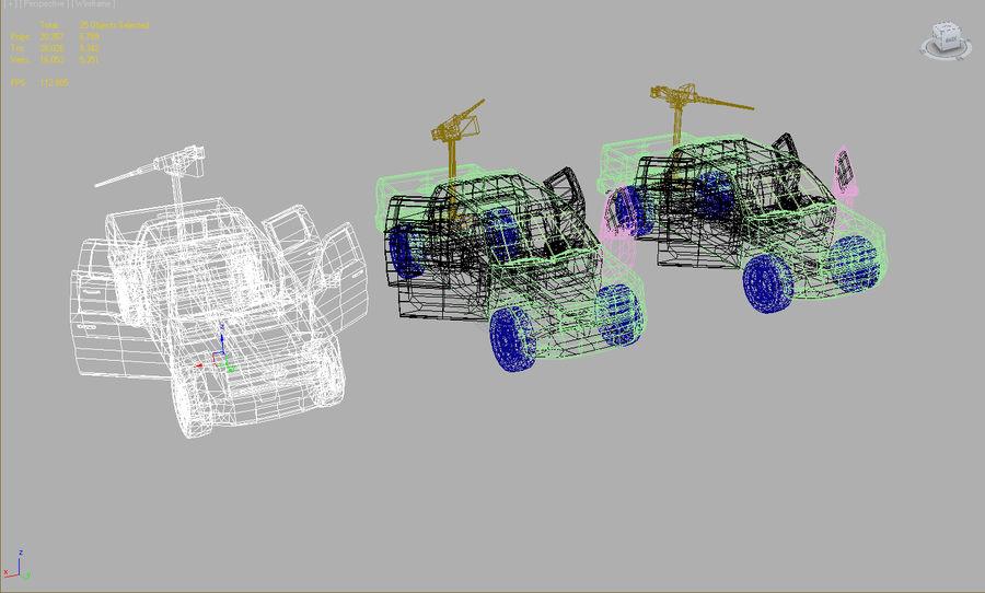 Tekniskt (fordon) royalty-free 3d model - Preview no. 6