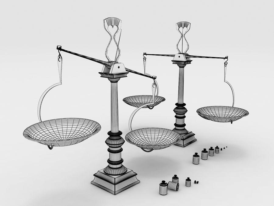 Precision balance royalty-free 3d model - Preview no. 8