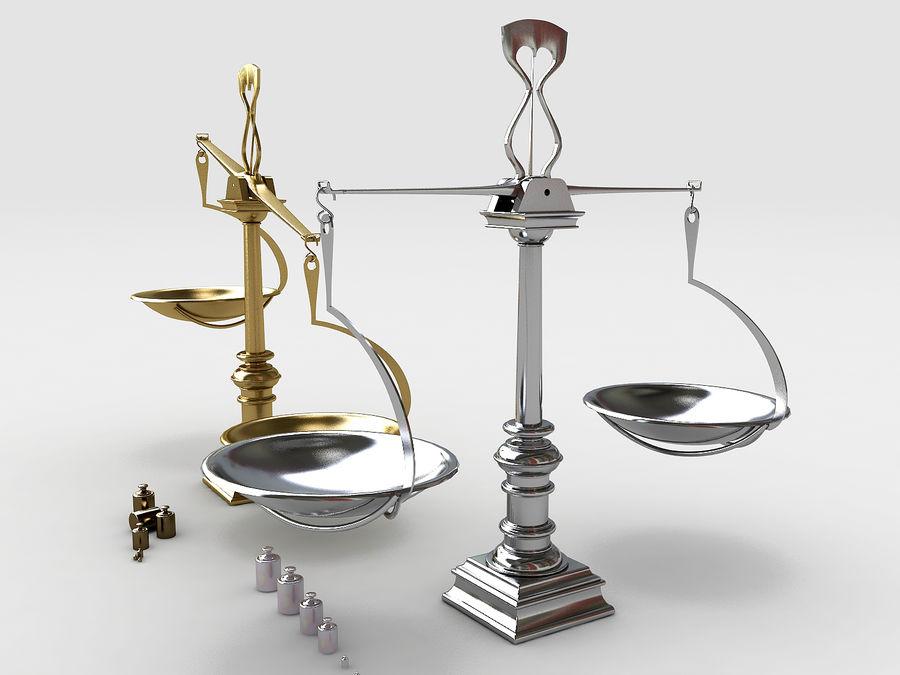 Precision balance royalty-free 3d model - Preview no. 3