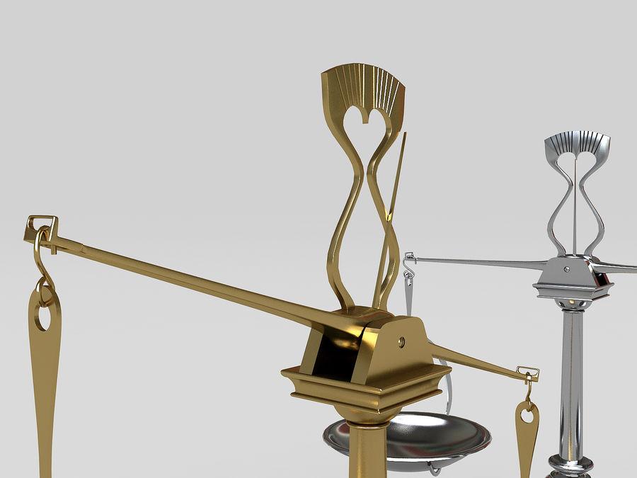 Precision balance royalty-free 3d model - Preview no. 6