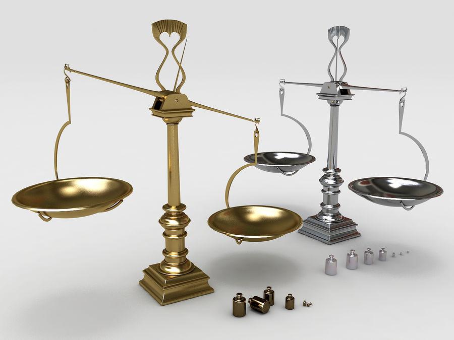 Precision balance royalty-free 3d model - Preview no. 1