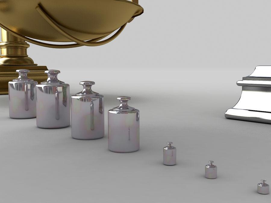 Precision balance royalty-free 3d model - Preview no. 5