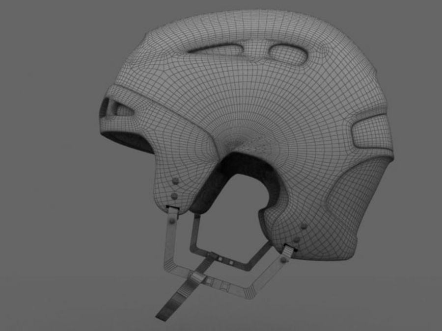 Sport helmets collection royalty-free 3d model - Preview no. 23