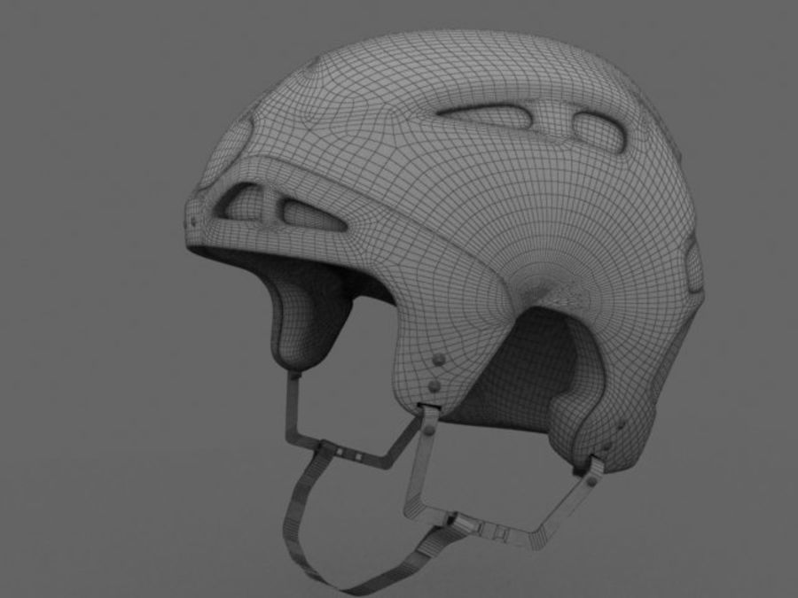 Sport helmets collection royalty-free 3d model - Preview no. 26