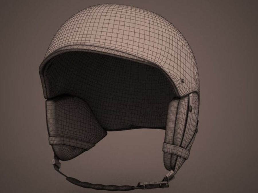 Sport helmets collection royalty-free 3d model - Preview no. 6
