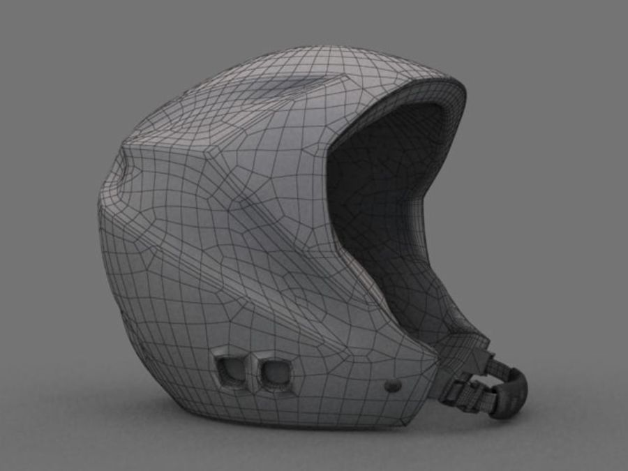 Sport helmets collection royalty-free 3d model - Preview no. 16