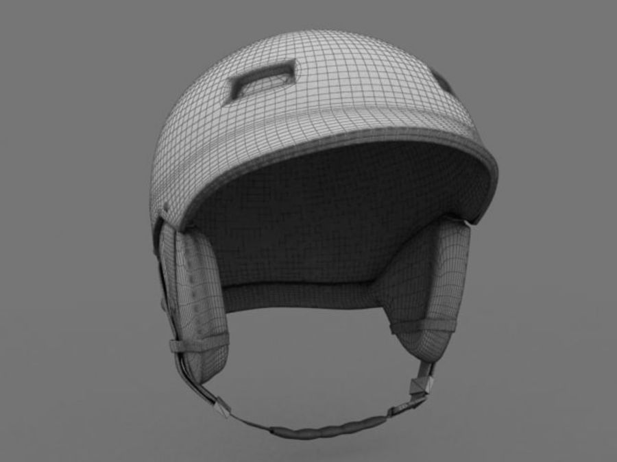 Sport helmets collection royalty-free 3d model - Preview no. 19