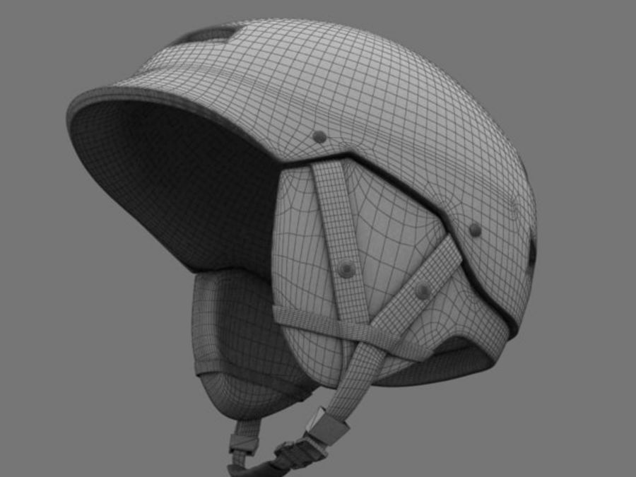 Sport helmets collection royalty-free 3d model - Preview no. 20