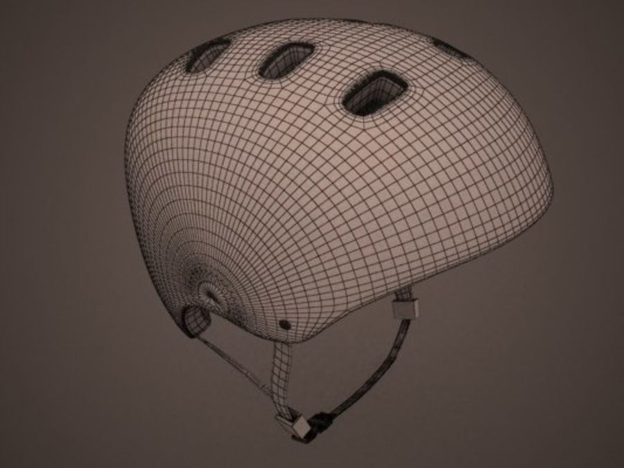 Sport helmets collection royalty-free 3d model - Preview no. 12