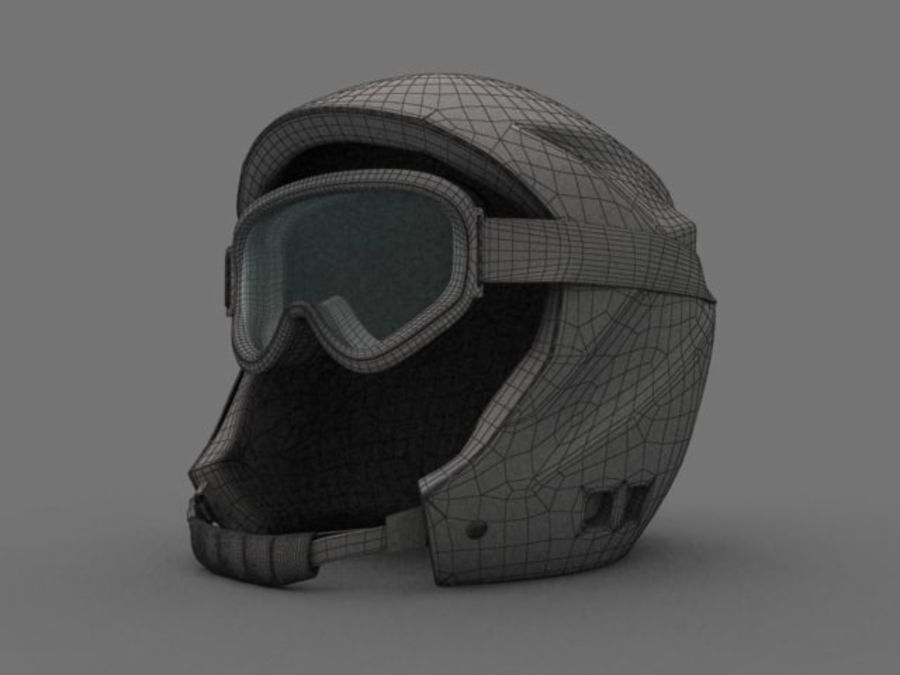 Sport helmets collection royalty-free 3d model - Preview no. 15