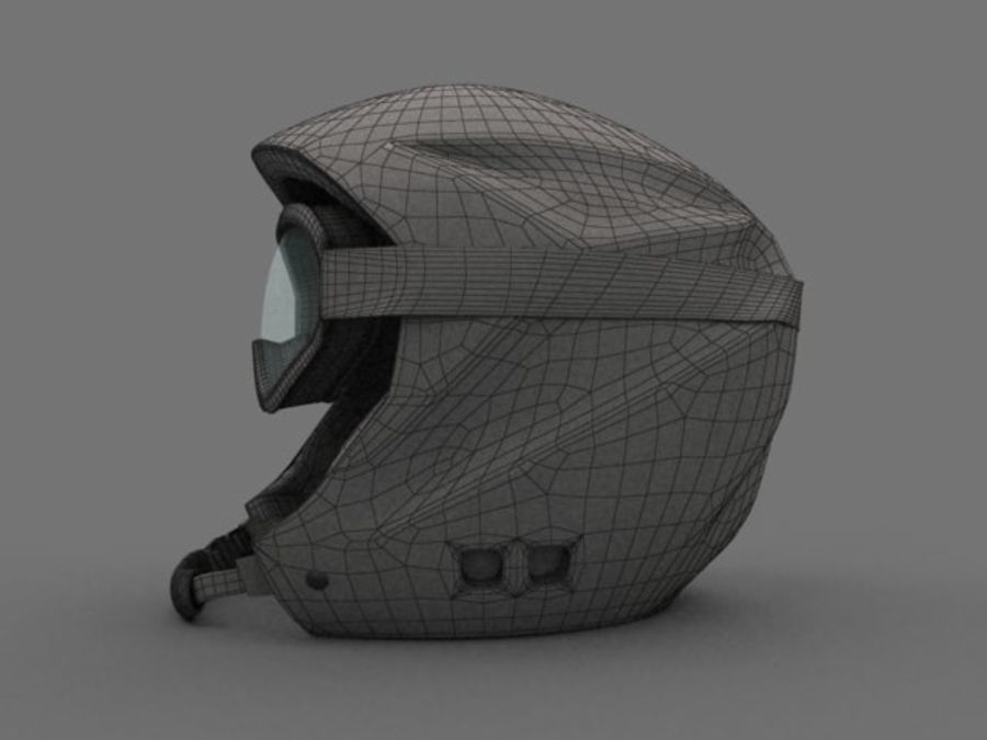 Sport helmets collection royalty-free 3d model - Preview no. 3