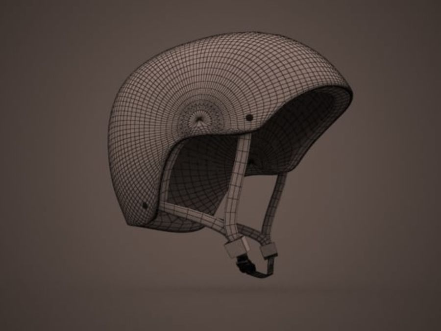Sport helmets collection royalty-free 3d model - Preview no. 11