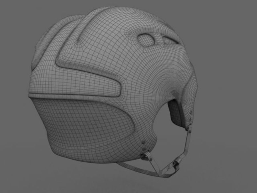 Sport helmets collection royalty-free 3d model - Preview no. 25