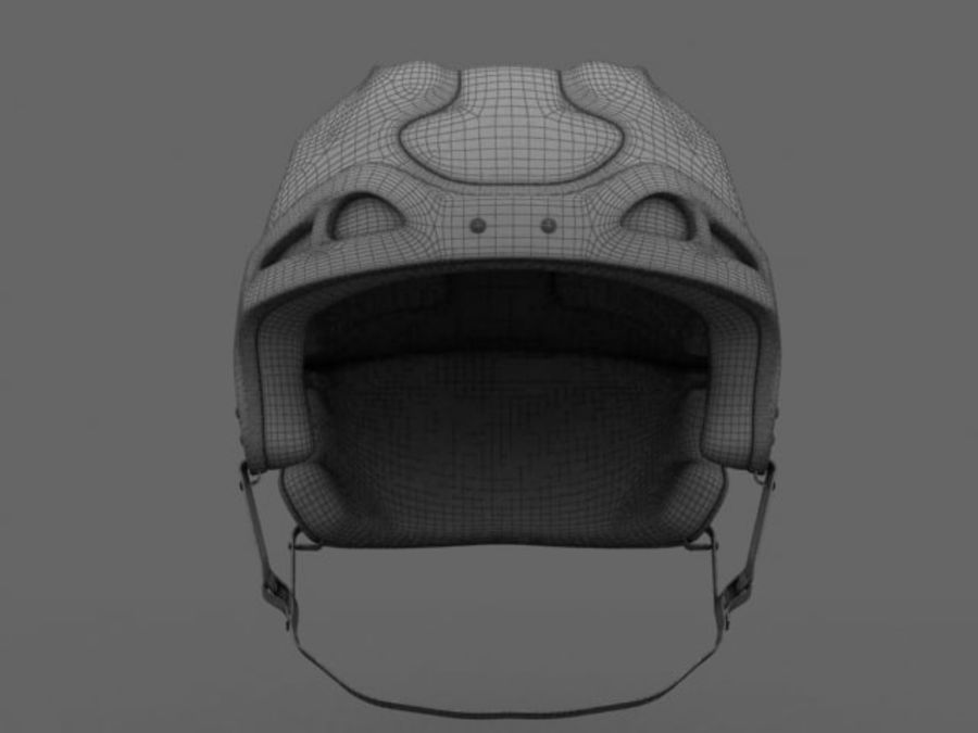 Sport helmets collection royalty-free 3d model - Preview no. 22