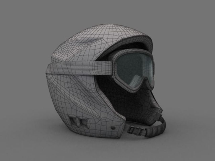 Sport helmets collection royalty-free 3d model - Preview no. 13
