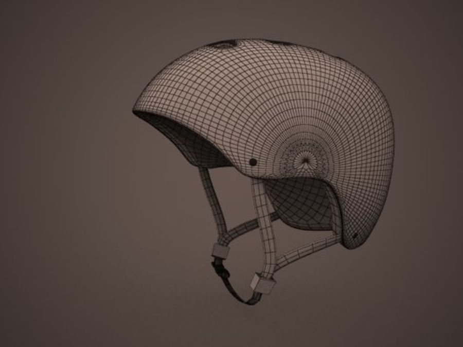 Sport helmets collection royalty-free 3d model - Preview no. 10