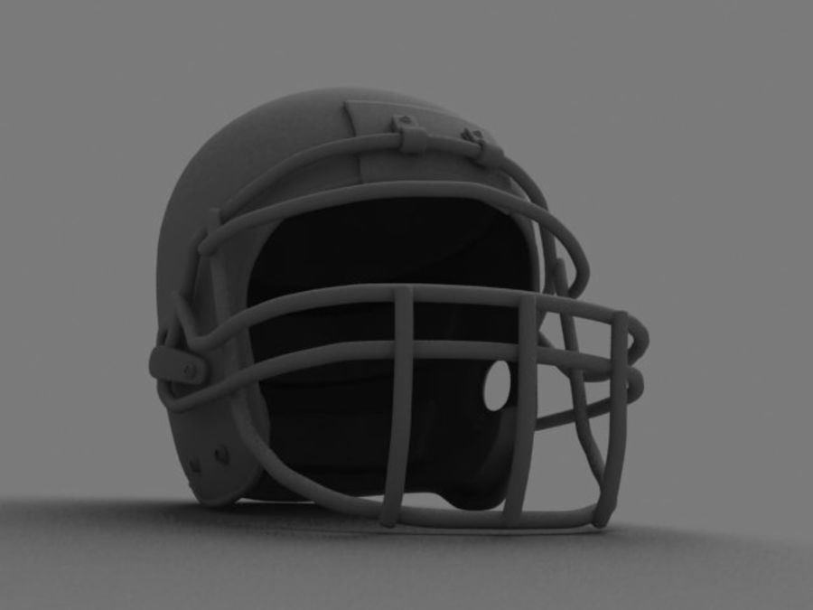 Sport helmets collection royalty-free 3d model - Preview no. 31