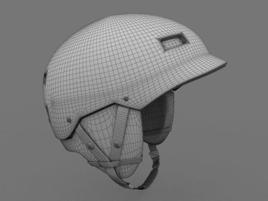 Sport helmets collection royalty-free 3d model - Preview no. 18