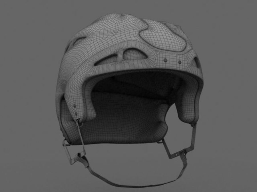 Sport helmets collection royalty-free 3d model - Preview no. 21