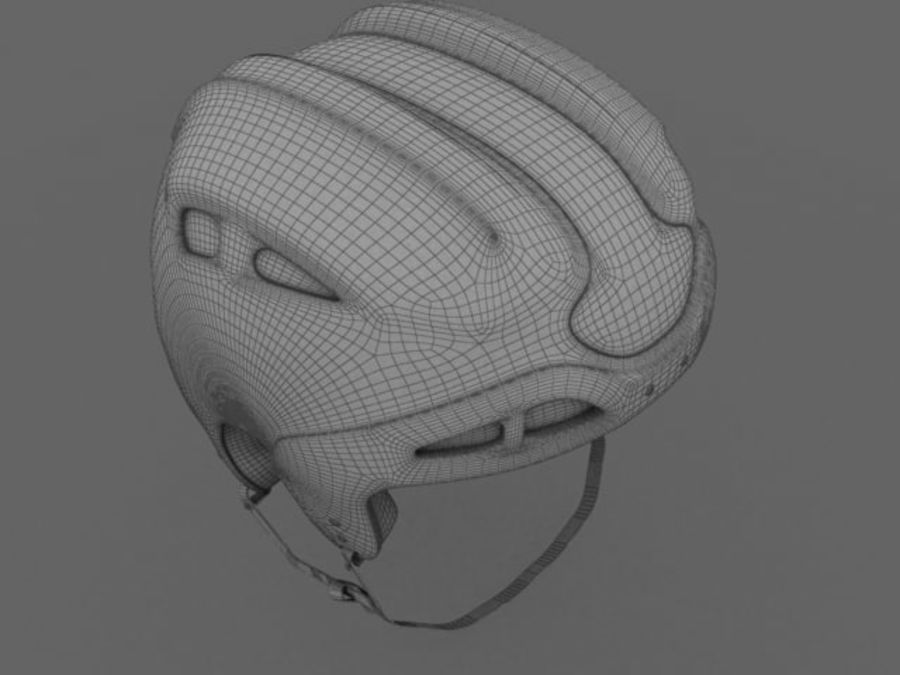 Sport helmets collection royalty-free 3d model - Preview no. 24