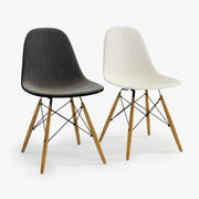 Photoreal Eames Plastic Chair DSW 3d model