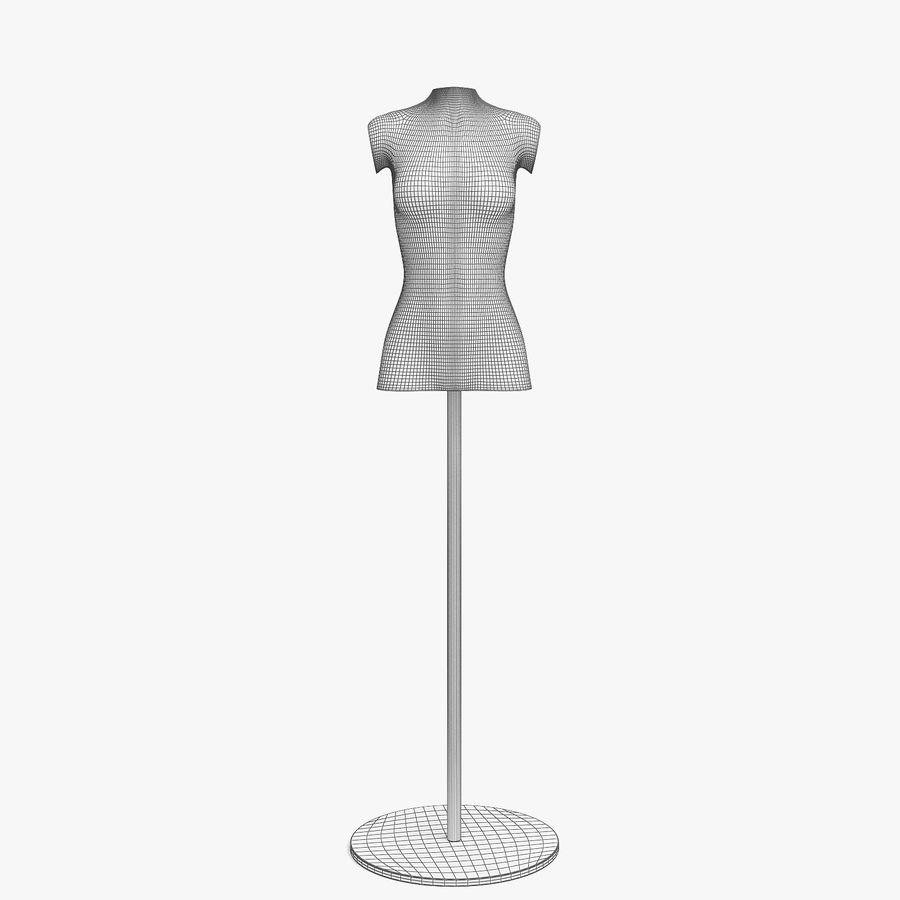 Manken kadın royalty-free 3d model - Preview no. 5