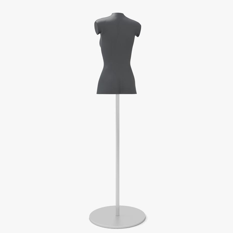 Manken kadın royalty-free 3d model - Preview no. 8