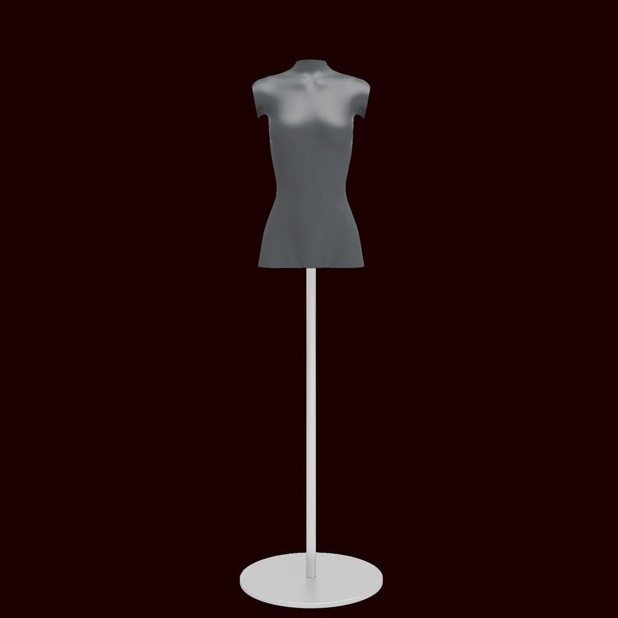 Manken kadın royalty-free 3d model - Preview no. 2