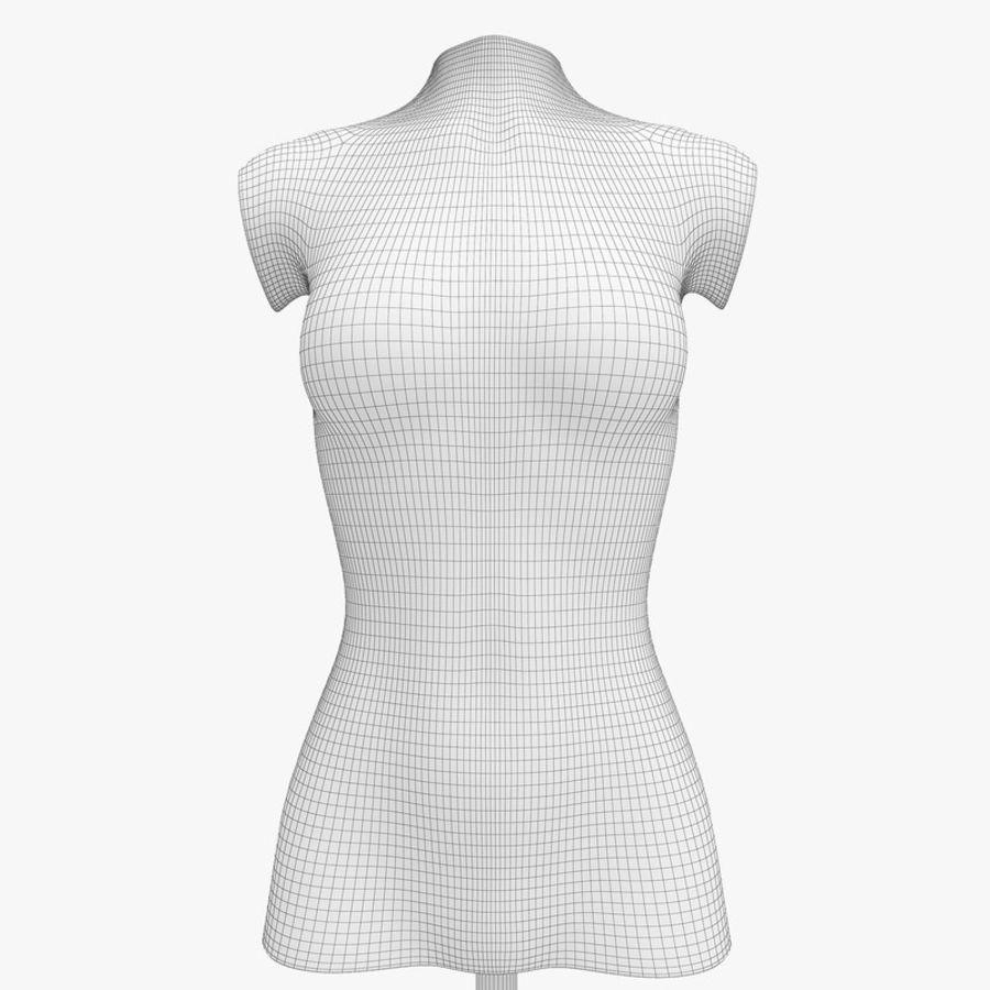Manken kadın royalty-free 3d model - Preview no. 13