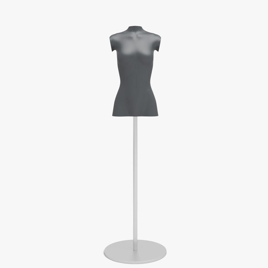 Manken kadın royalty-free 3d model - Preview no. 1