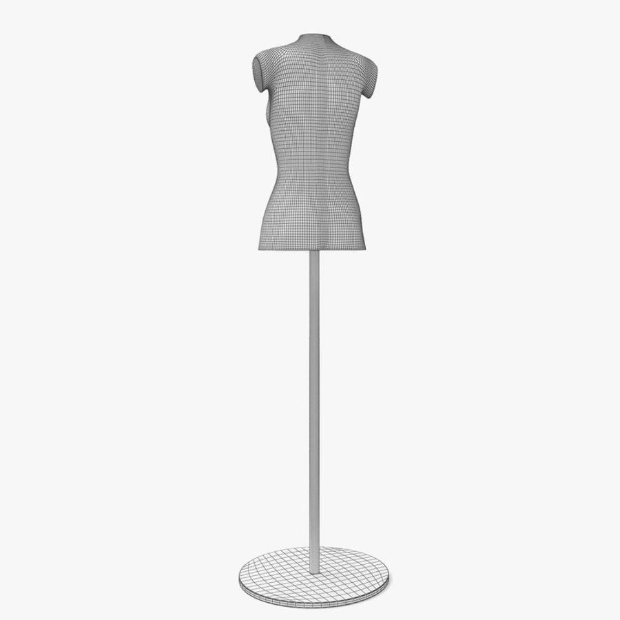 Manken kadın royalty-free 3d model - Preview no. 9