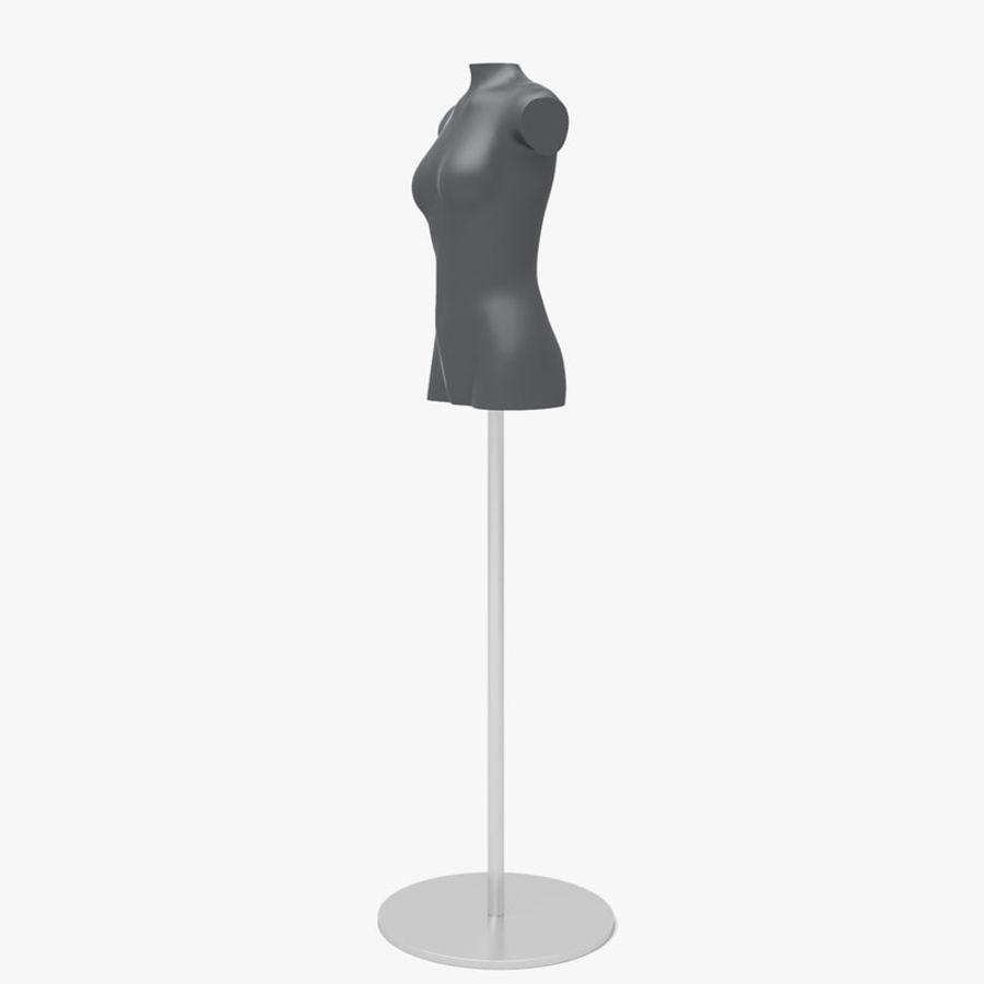 Manken kadın royalty-free 3d model - Preview no. 6