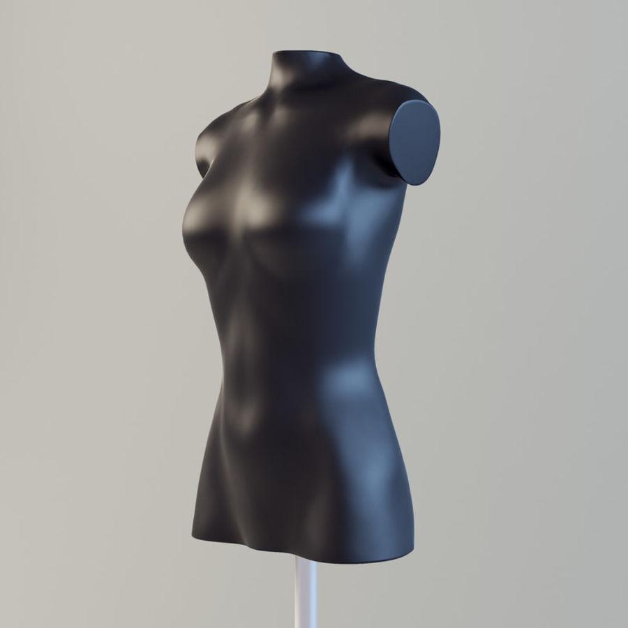 Manken kadın royalty-free 3d model - Preview no. 4