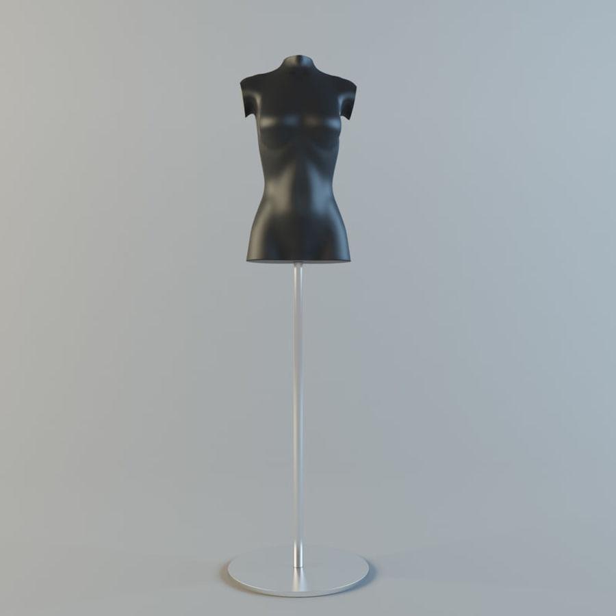 Manken kadın royalty-free 3d model - Preview no. 3