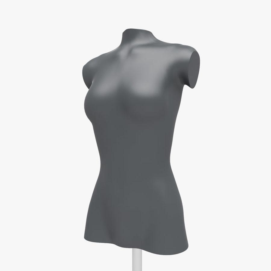 Manken kadın royalty-free 3d model - Preview no. 10
