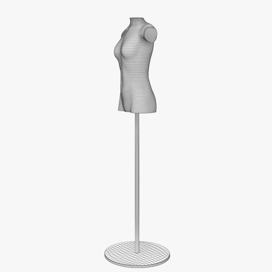 Manken kadın royalty-free 3d model - Preview no. 7