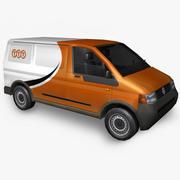 Фольксваген Почтовая служба 3d model