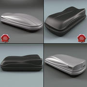 Roof Boxes Collection 3d model